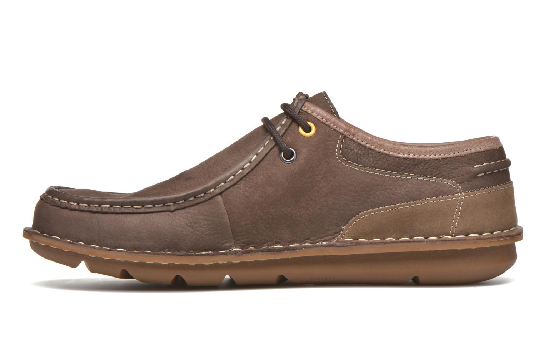 Chaussures à lacets TBS Yakari Marron vue face