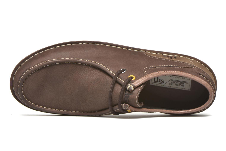 Chaussures à lacets TBS Yakari Marron vue gauche