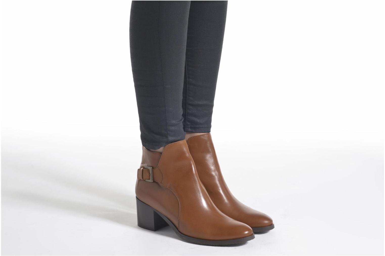 Bottines et boots PintoDiBlu Bruna Noir vue bas / vue portée sac