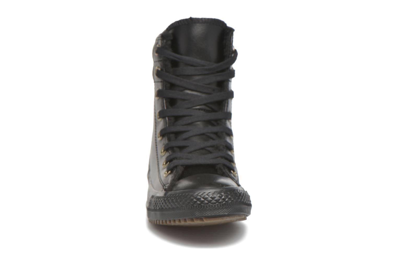 Sneaker Converse Chuck Taylor All Star Hi-Rise Boot X-Hi schwarz schuhe getragen