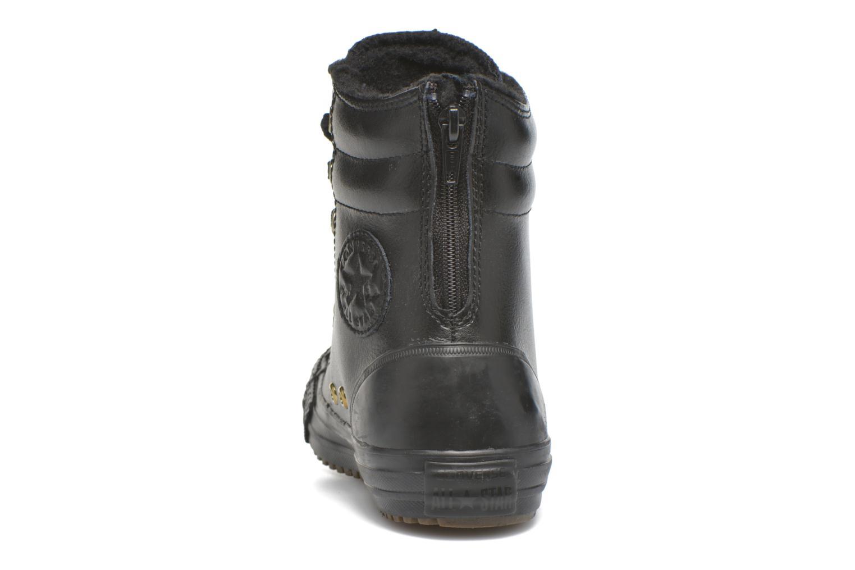 Sneaker Converse Chuck Taylor All Star Hi-Rise Boot X-Hi schwarz ansicht von rechts