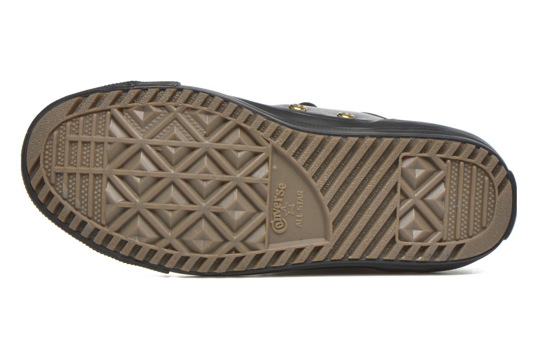 Sneaker Converse Chuck Taylor All Star Hi-Rise Boot X-Hi schwarz ansicht von oben