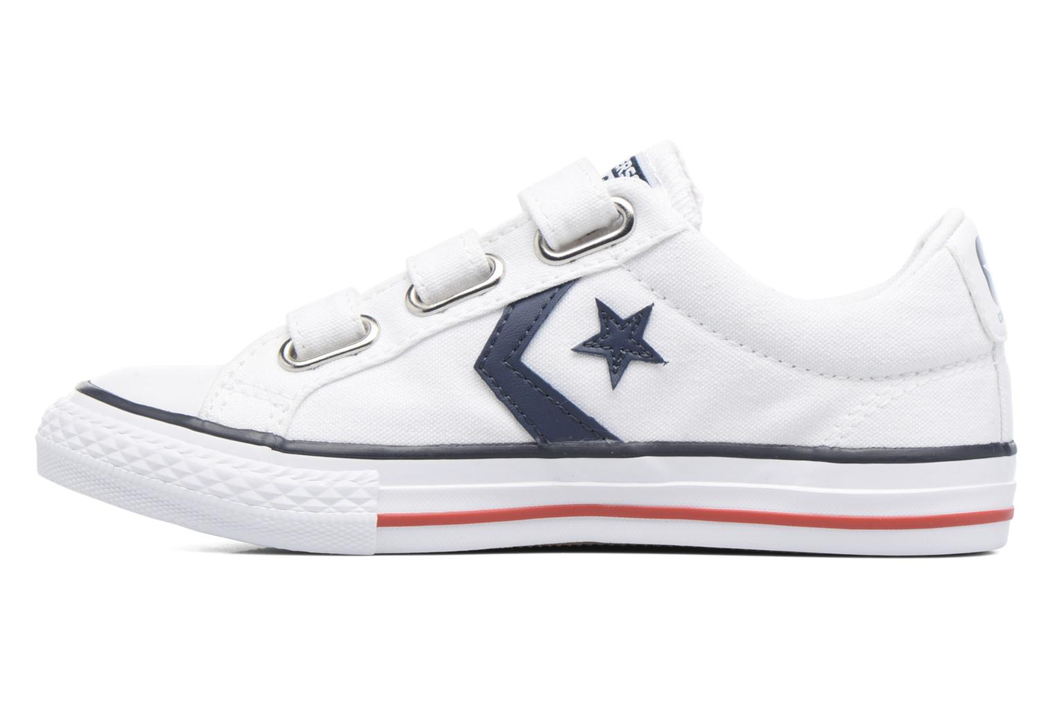 Deportivas Converse Star Player 3V Ox Blanco vista de frente