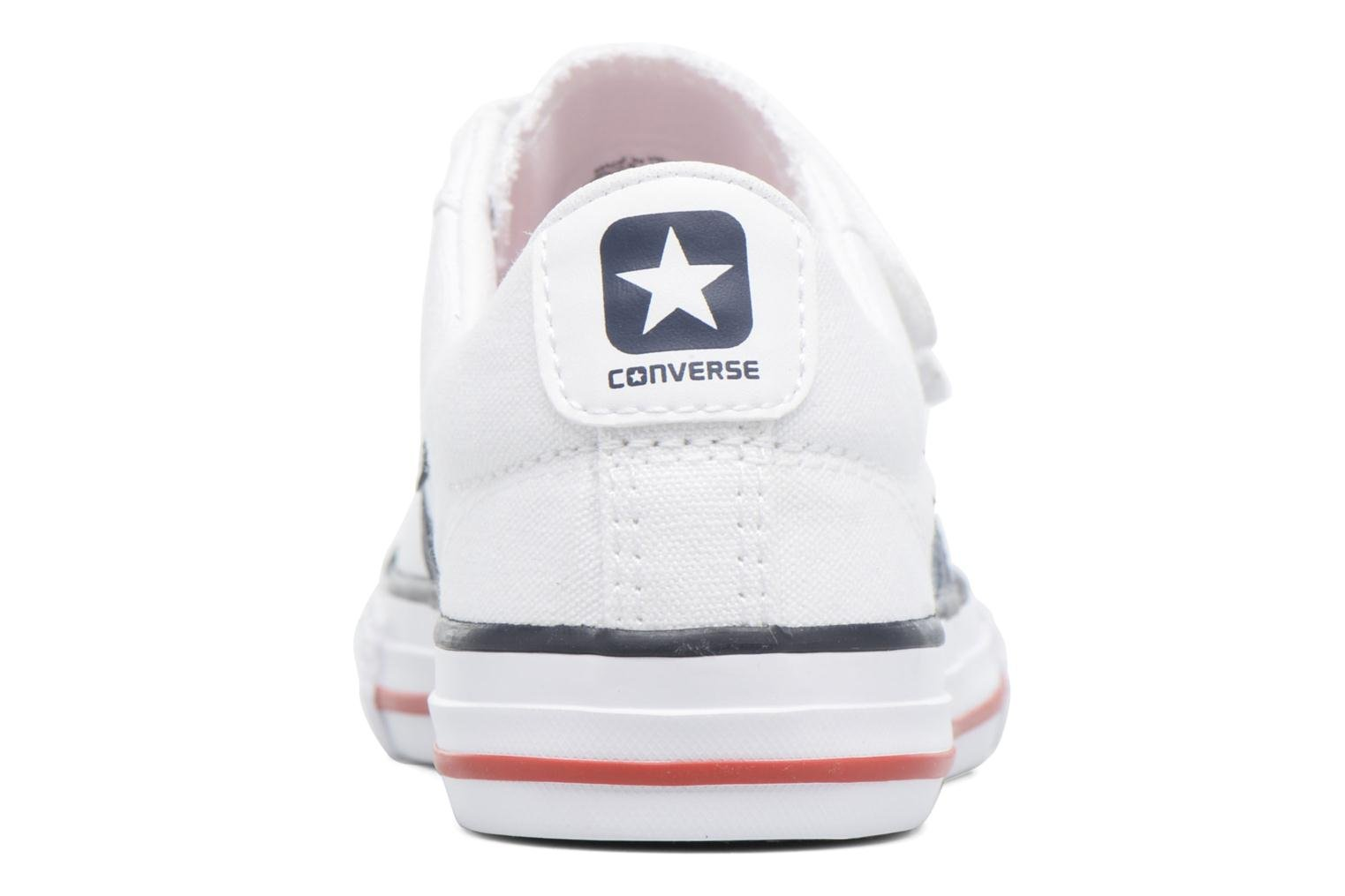 Deportivas Converse Star Player 3V Ox Blanco vista lateral derecha