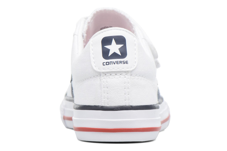 Baskets Converse Star Player 3V Ox Blanc vue droite