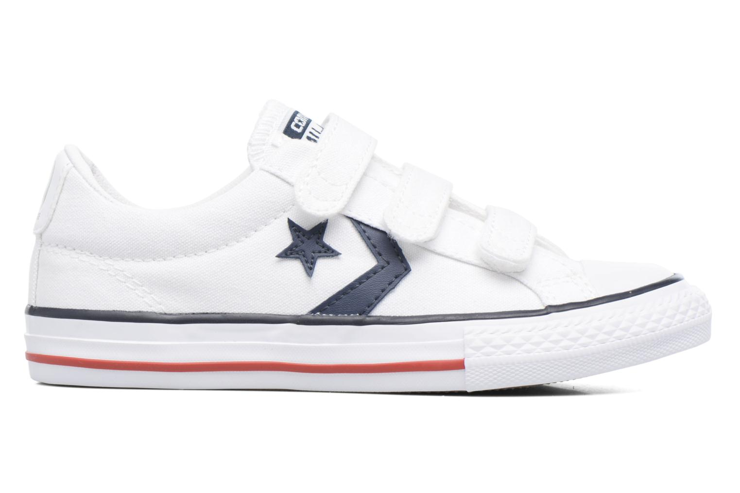 Deportivas Converse Star Player 3V Ox Blanco vistra trasera