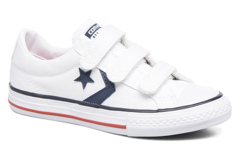 Star Player 3V Ox White/navy/red