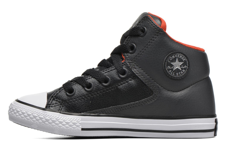 Sneakers Converse Chuck Taylor All Star High Street Hi Grå se forfra