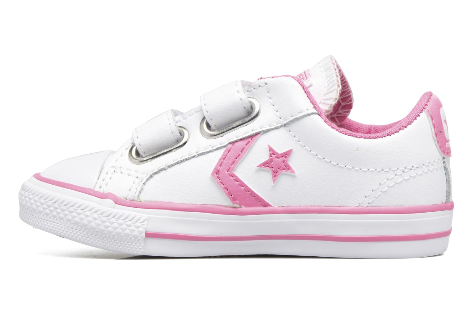 Deportivas Converse Star Player 2V Ox Blanco vista de frente