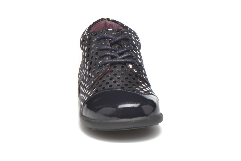 Chaussures à lacets Mod8 Lou Bleu vue portées chaussures