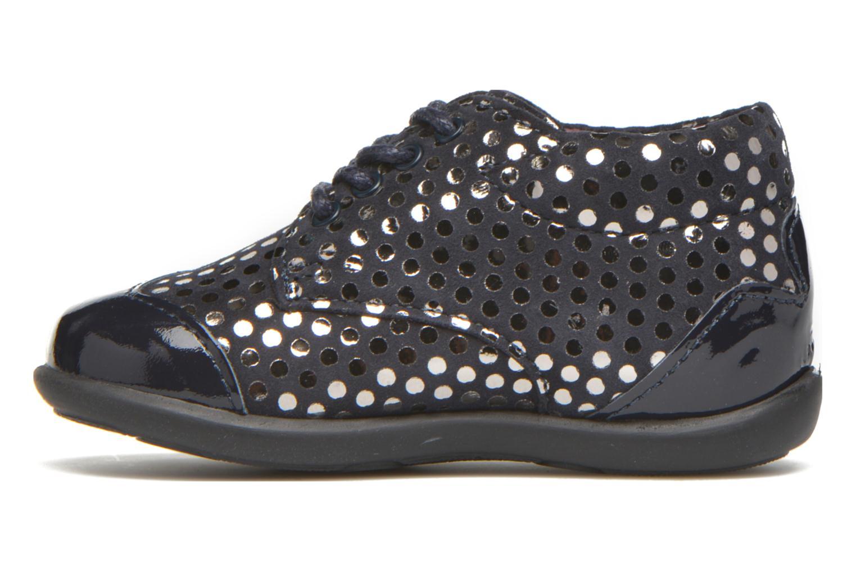 Chaussures à lacets Mod8 Lou Bleu vue face