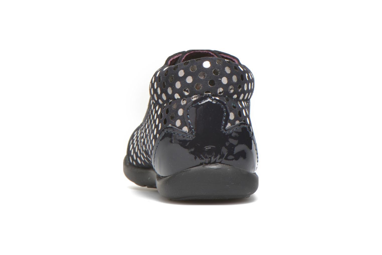 Chaussures à lacets Mod8 Lou Bleu vue droite