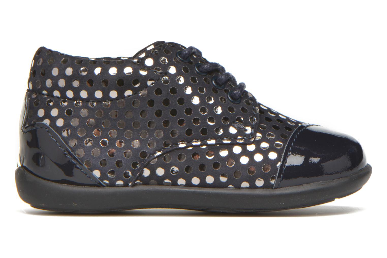 Chaussures à lacets Mod8 Lou Bleu vue derrière