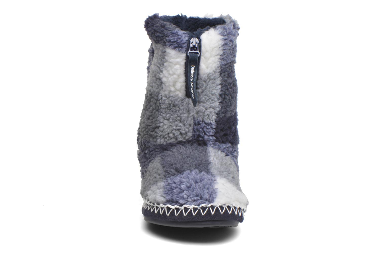 Hausschuhe BEDROOM ATHLETICS McQueen blau schuhe getragen