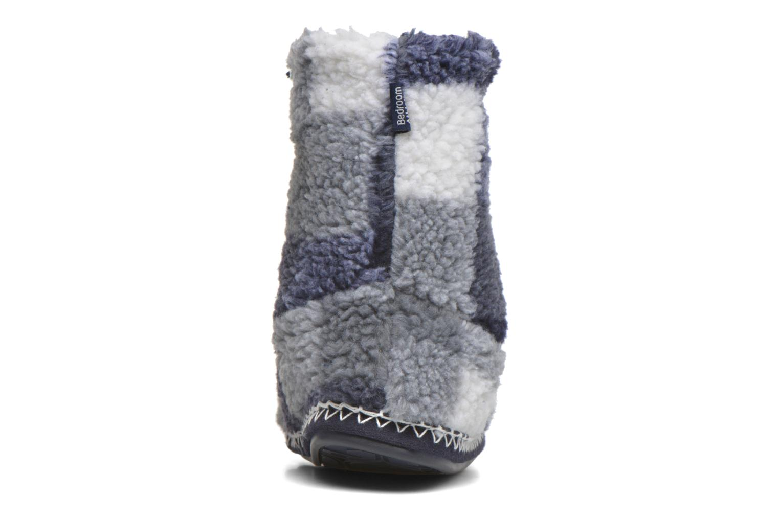 Slippers BEDROOM ATHLETICS McQueen Blue view from the right