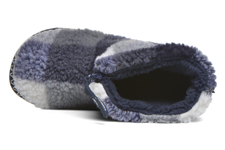 Hausschuhe BEDROOM ATHLETICS McQueen blau ansicht von links