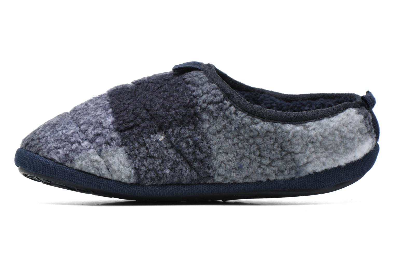 Pantofole BEDROOM ATHLETICS Gibson Azzurro immagine frontale