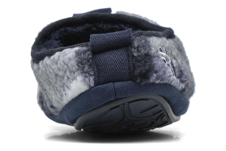 Pantofole BEDROOM ATHLETICS Gibson Azzurro immagine destra