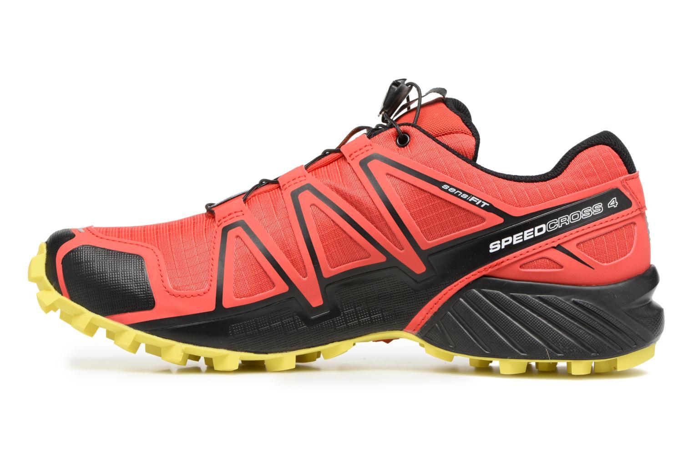 Chaussures de sport Salomon Speedcross 4 Rouge vue face