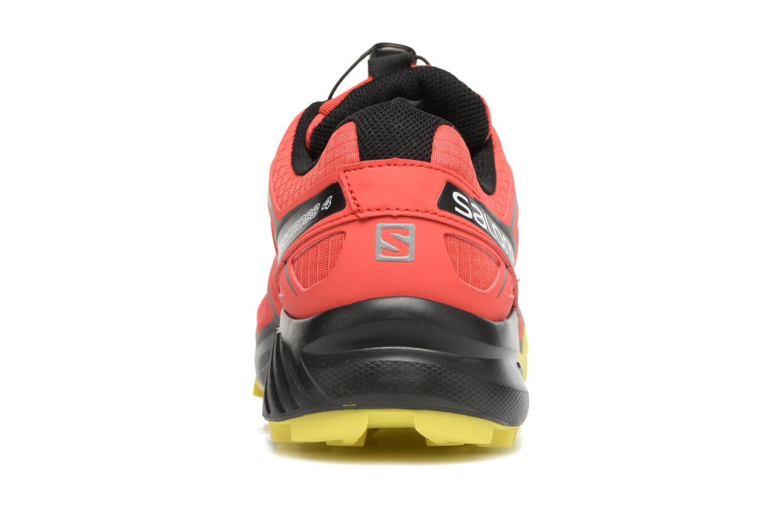 Zapatillas de deporte Salomon Speedcross 4 Rojo vista lateral derecha