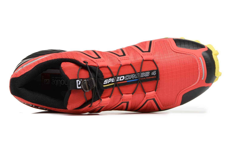 Zapatillas de deporte Salomon Speedcross 4 Rojo vista lateral izquierda