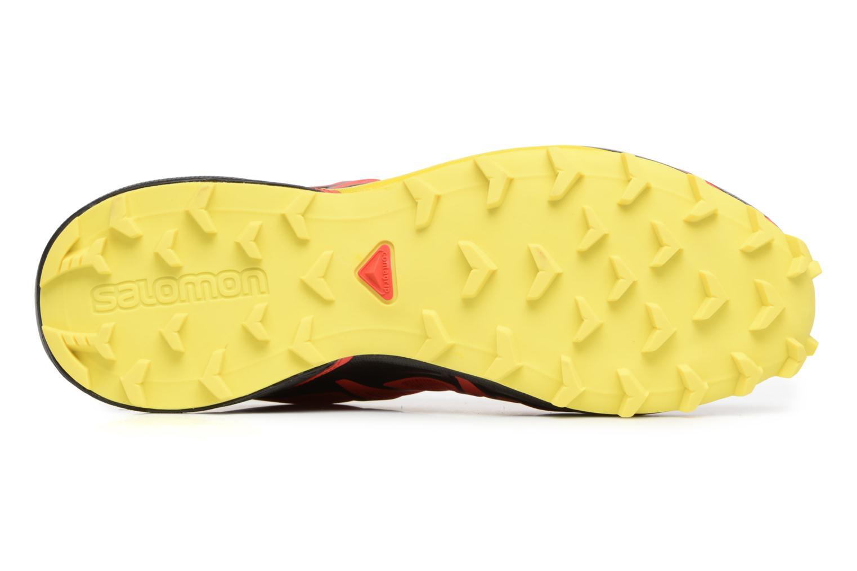 Chaussures de sport Salomon Speedcross 4 Rouge vue haut