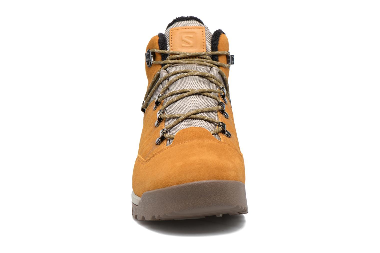 Zapatillas de deporte Salomon Utility TS CSWP Marrón vista del modelo