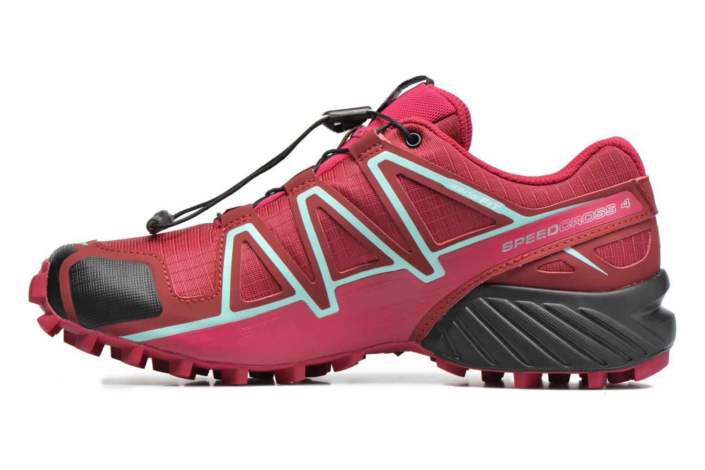 Chaussures de sport Salomon Speedcross 4 W Rose vue face