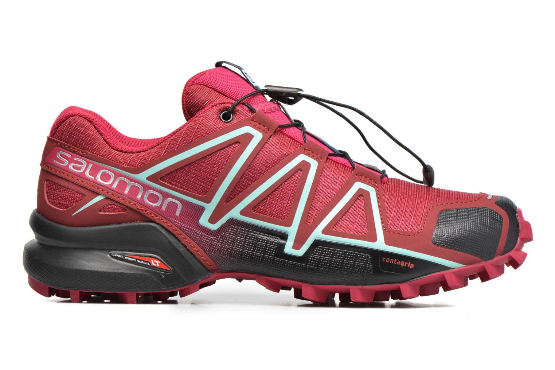 Chaussures de sport Salomon Speedcross 4 W Rose vue derrière