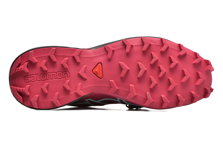 Chaussures de sport Salomon Speedcross 4 W Rose vue haut