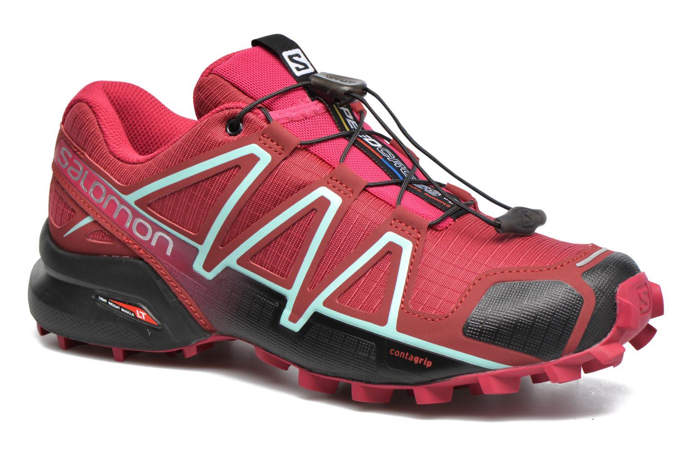 Chaussures de sport Salomon Speedcross 4 W Rose vue détail/paire