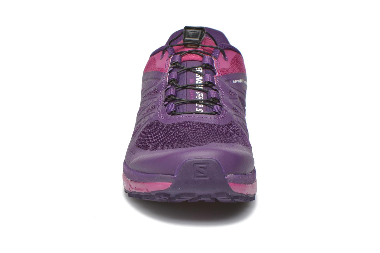 Chaussures de sport Salomon Sense Pro 2 W Violet vue portées chaussures