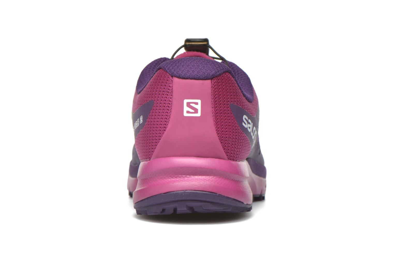 Scarpe sportive Salomon Sense Pro 2 W Viola immagine destra
