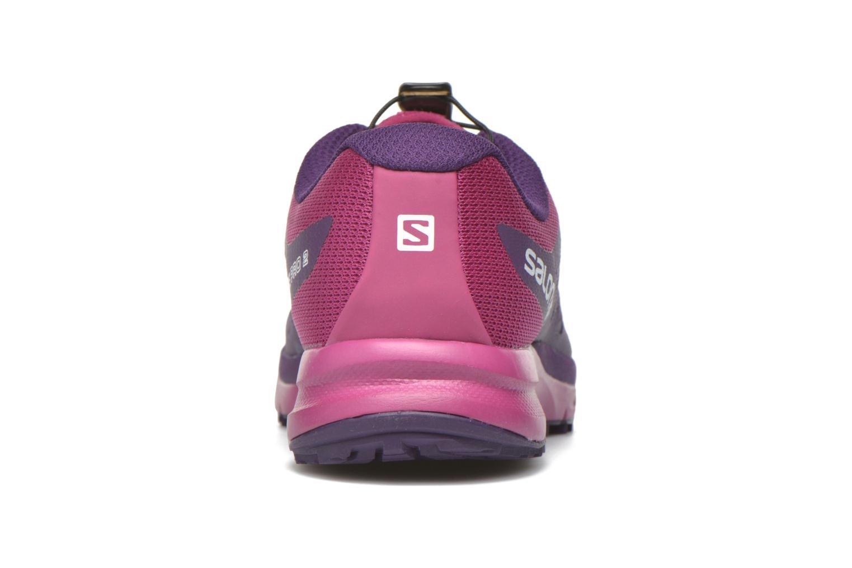 Chaussures de sport Salomon Sense Pro 2 W Violet vue droite