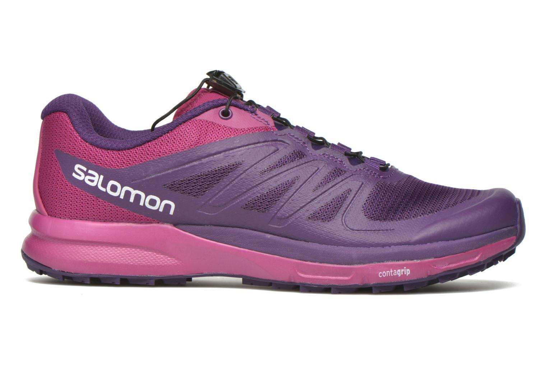Chaussures de sport Salomon Sense Pro 2 W Violet vue derrière