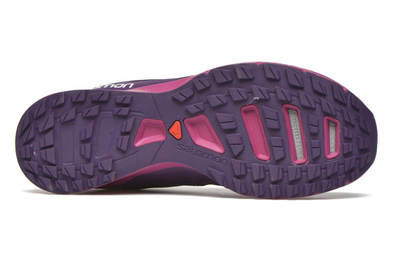Chaussures de sport Salomon Sense Pro 2 W Violet vue haut
