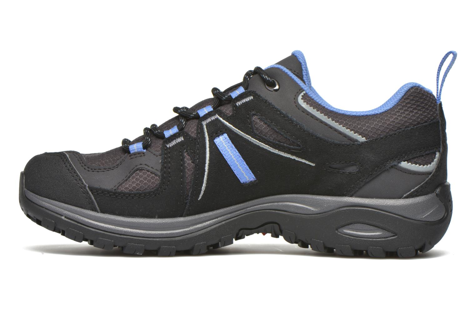 Chaussures de sport Salomon Ellipse 2 GTX W Gris vue face