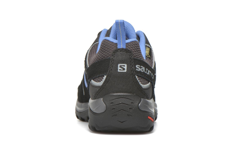 Chaussures de sport Salomon Ellipse 2 GTX W Gris vue droite