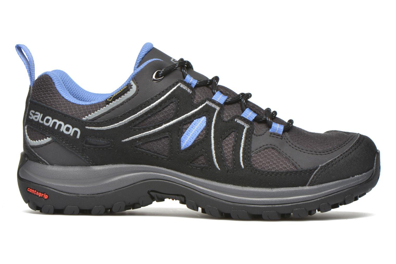 Chaussures de sport Salomon Ellipse 2 GTX W Gris vue derrière