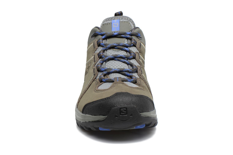 Chaussures de sport Salomon Ellipse 2 LTR W Gris vue portées chaussures