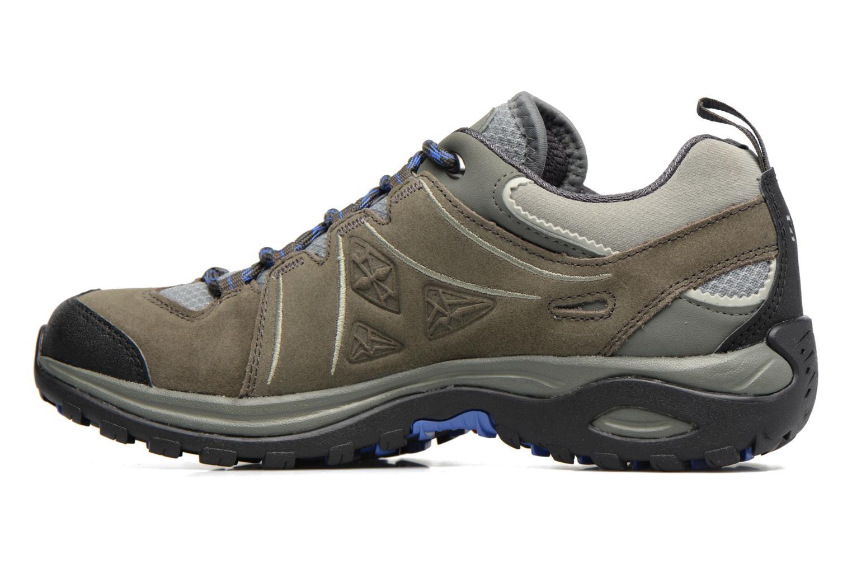 Chaussures de sport Salomon Ellipse 2 LTR W Gris vue face