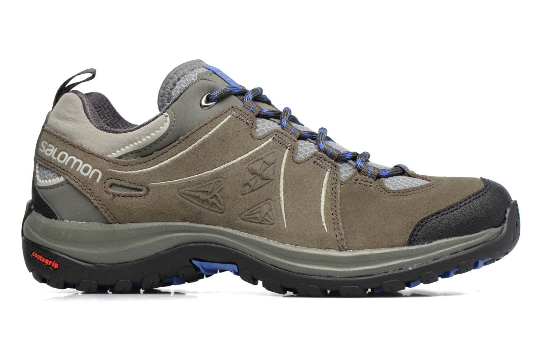 Chaussures de sport Salomon Ellipse 2 LTR W Gris vue derrière