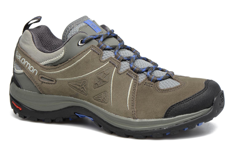 Chaussures de sport Salomon Ellipse 2 LTR W Gris vue détail/paire