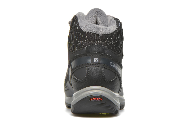 Chaussures de sport Salomon Kaïna CS WP 2 Noir vue droite
