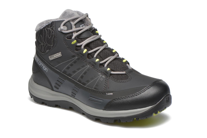 Chaussures de sport Salomon Kaïna CS WP 2 Noir vue détail/paire
