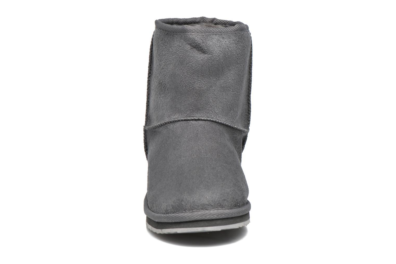 Bottes Pepe jeans Angel Gris vue portées chaussures