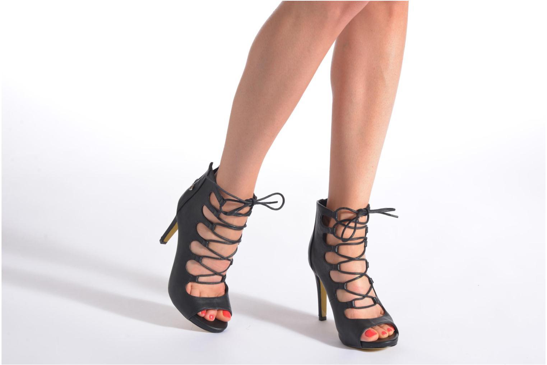 Sandales et nu-pieds Blink Dayna-Low A Noir vue bas / vue portée sac