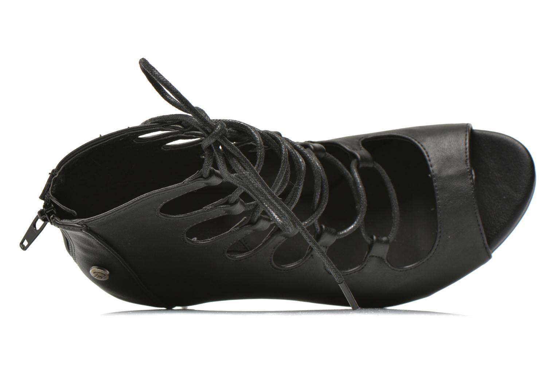 Sandales et nu-pieds Blink Dayna-Low A Noir vue gauche
