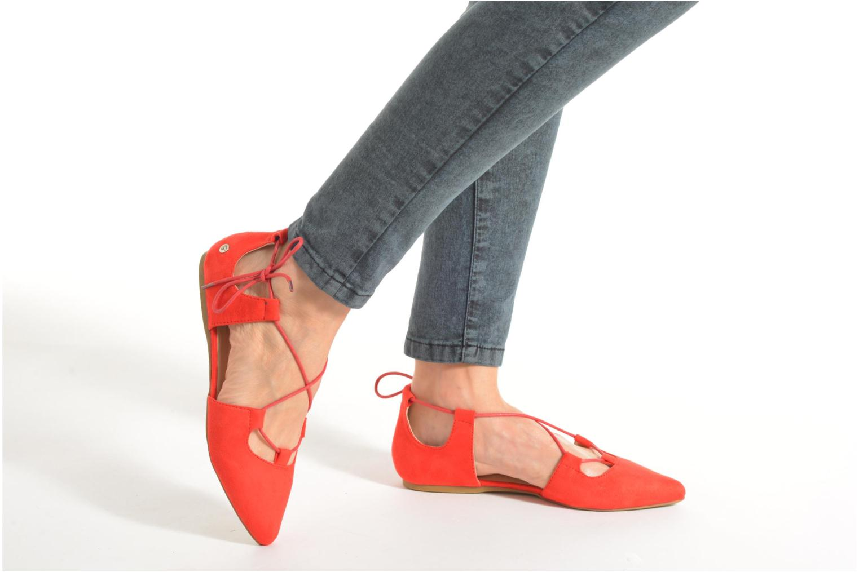 Ballerinas Blink New-Imanil orange ansicht von unten / tasche getragen