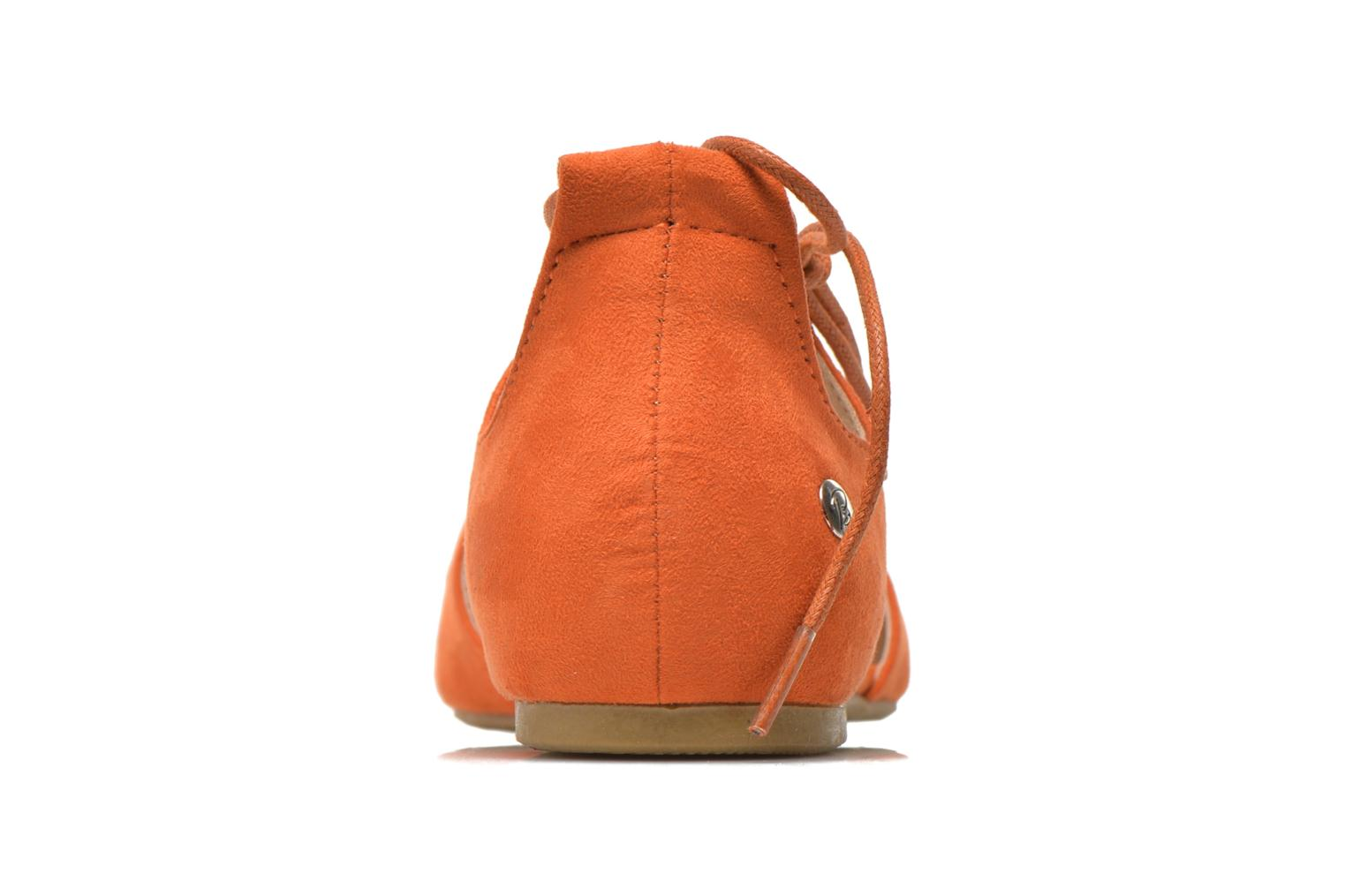 Ballet pumps Blink New-Imanil Orange view from the right